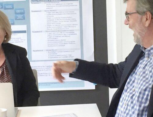 Bürgermeister Laesicke zu Besuch beim Digitalen Umbruch