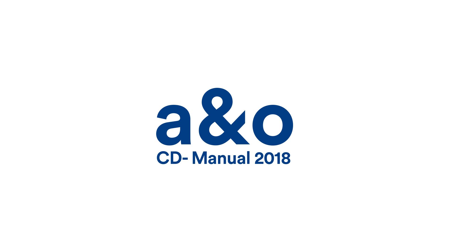 a & o CD Manual