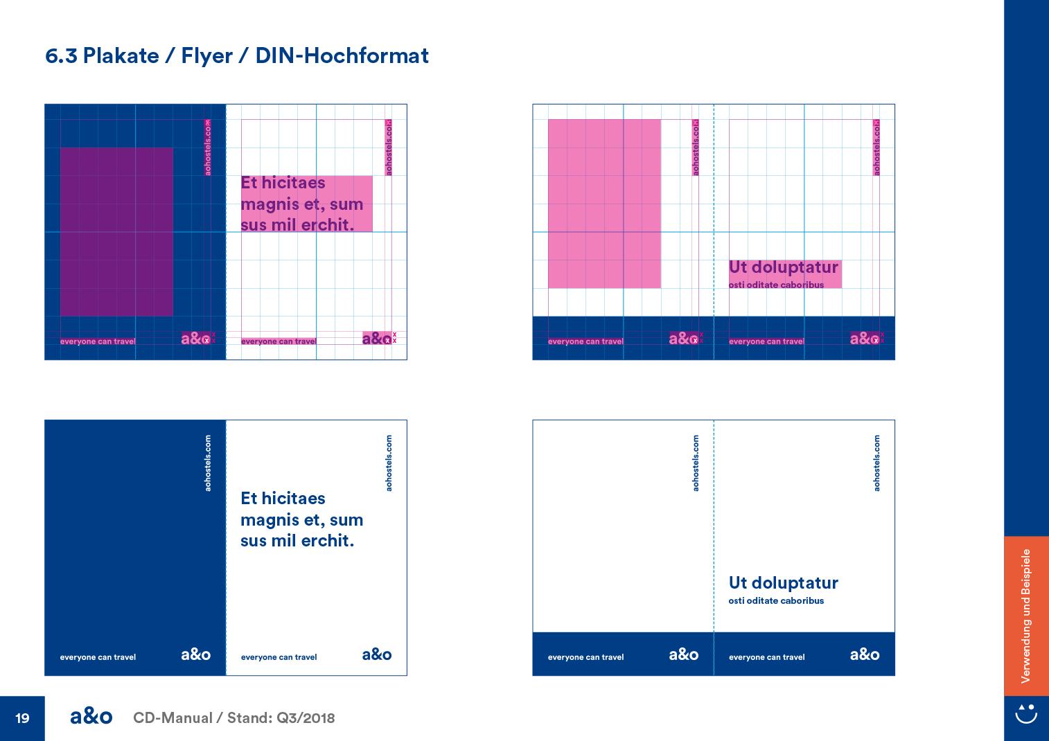 a & o CD Manual Detail Plakate