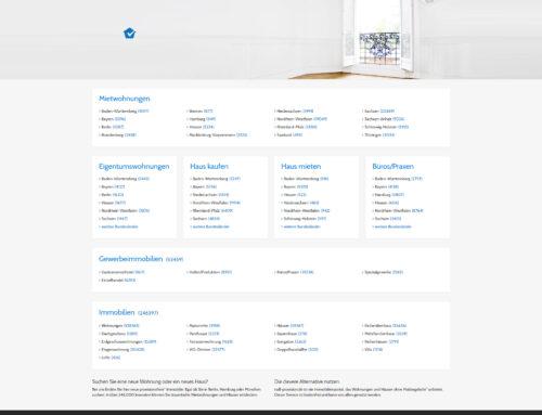 Null-Provision – Webportal für Immobiliensuchende