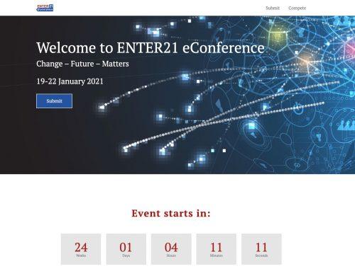 Enter21 – die digitale Konferenz für Tech und IT im Tourismus