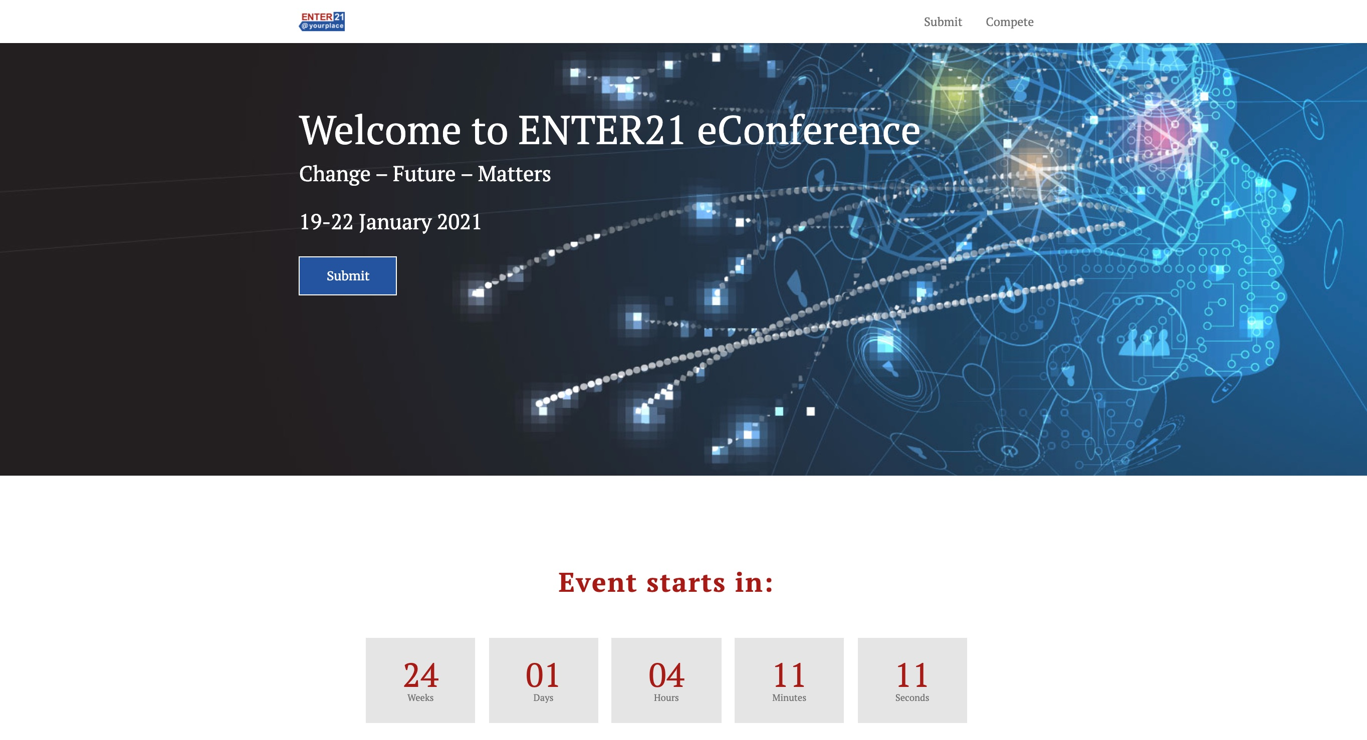 Neuer Kunde: Enter21 Conference