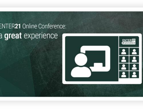 Wir begleiten eine digitale Konferenz – ENTER21 mit 250 Teilnehmern